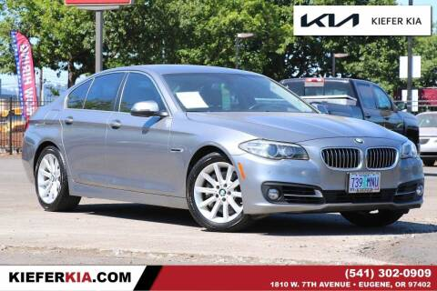 2015 BMW 5 Series for sale at Kiefer Kia in Eugene OR