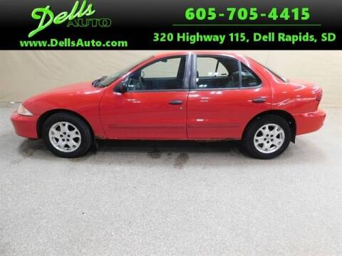 2002 Chevrolet Cavalier for sale at Dells Auto in Dell Rapids SD
