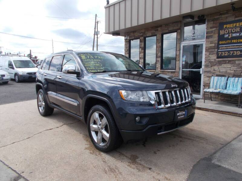 2013 Jeep Grand Cherokee for sale at Preferred Motor Cars of New Jersey in Keyport NJ