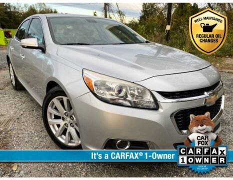 2015 Chevrolet Malibu for sale at High Rated Auto Company in Abingdon MD
