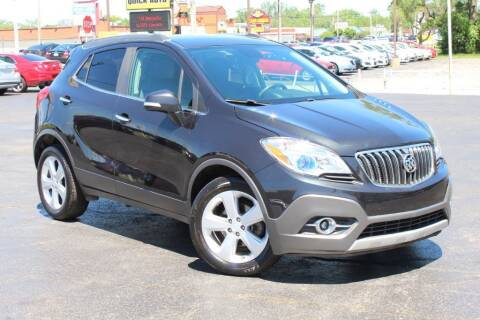 2016 Buick Encore for sale at Dynamics Auto Sale in Highland IN