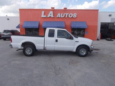 2004 Ford F-250 Super Duty for sale at L A AUTOS in Omaha NE