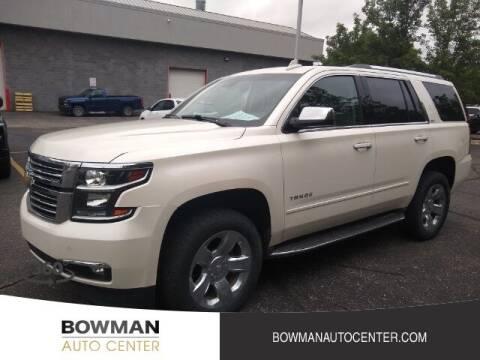 2015 Chevrolet Tahoe for sale at Bowman Auto Center in Clarkston MI