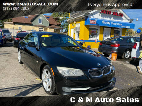 2011 BMW 3 Series for sale at C & M Auto Sales in Detroit MI