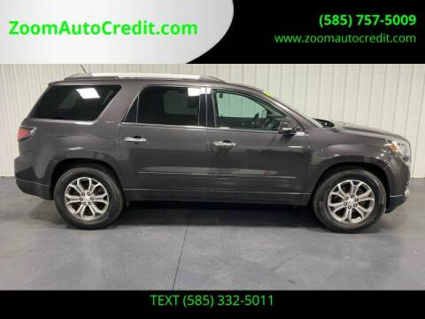 2016 GMC Acadia for sale at ZoomAutoCredit.com in Elba NY
