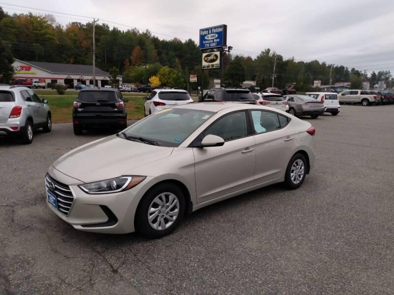 2018 Hyundai Elantra for sale at Ripley & Fletcher Pre-Owned Sales & Service in Farmington ME