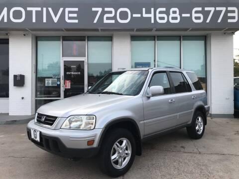 2001 Honda CR-V for sale at Shift Automotive in Denver CO