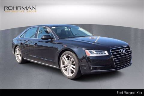 2015 Audi A8 L for sale at BOB ROHRMAN FORT WAYNE TOYOTA in Fort Wayne IN