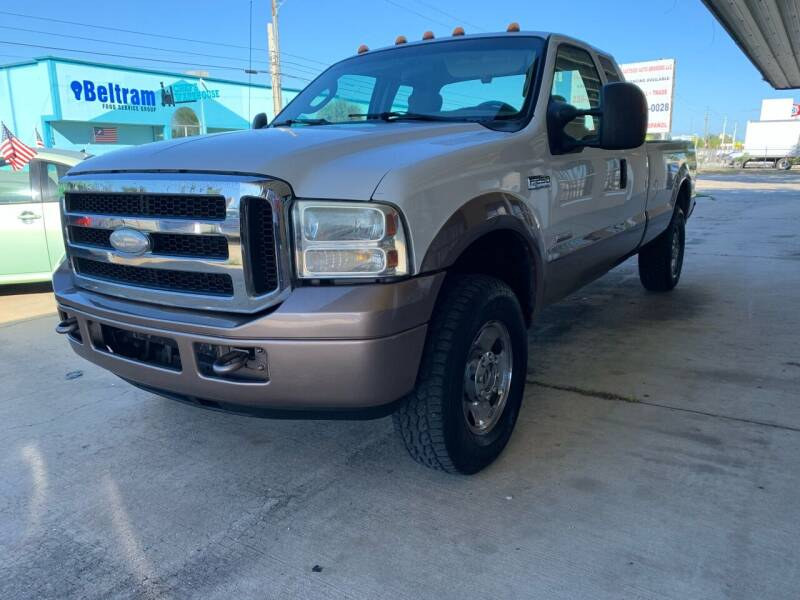 2007 Ford F-250 Super Duty for sale at Eastside Auto Brokers LLC in Fort Myers FL