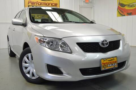 2010 Toyota Corolla for sale at Performance car sales in Joliet IL