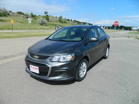 2017 Chevrolet Sonic for sale at Dick Nelson Sales & Leasing in Valley City ND