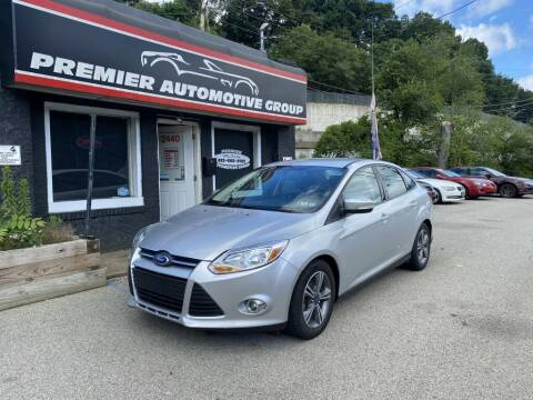 2014 Ford Focus for sale at Premier Automotive Group in Pittsburgh PA