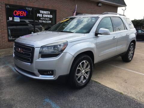 2014 GMC Acadia for sale at Bankruptcy Car Financing in Norfolk VA