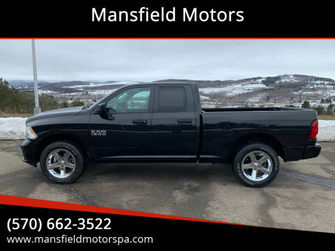 2018 RAM Ram Pickup 1500 for sale at Mansfield Motors in Mansfield PA
