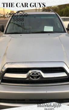 2006 Toyota 4Runner for sale at The Car Guys in Tucson AZ