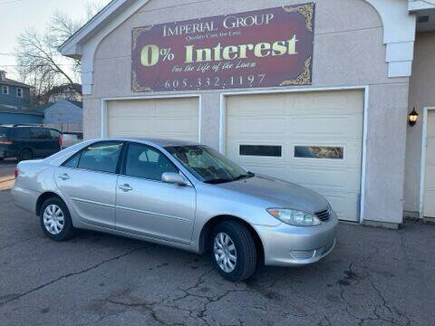 2005 Toyota Camry for sale at Imperial Group in Sioux Falls SD