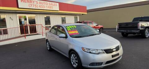 2011 Kia Forte for sale at Henry's Autosales, LLC in Reno NV