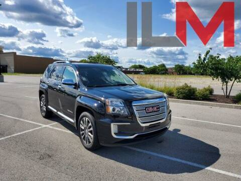 2017 GMC Terrain for sale at INDY LUXURY MOTORSPORTS in Fishers IN