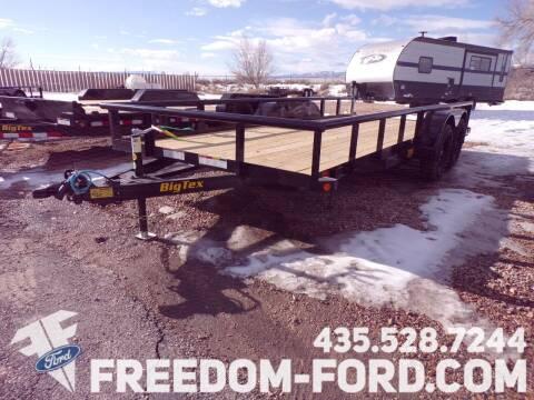 2021 Utility Trailer Big Tex 70PI - 18X18BK for sale at Freedom Ford Inc in Gunnison UT