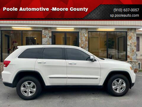 2012 Jeep Grand Cherokee for sale at Poole Automotive -Moore County in Aberdeen NC