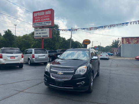 2012 Chevrolet Equinox for sale at Parkside Auto Sales & Service in Pekin IL