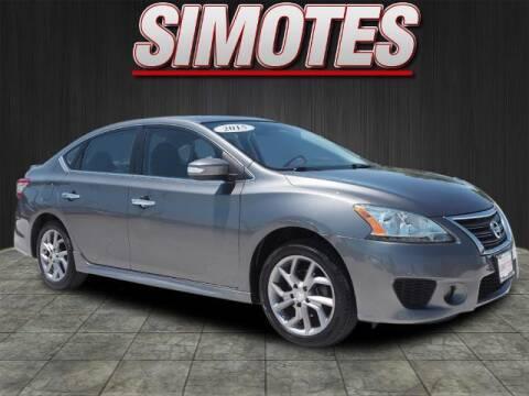 2015 Nissan Sentra for sale at SIMOTES MOTORS in Minooka IL