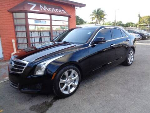 2014 Cadillac ATS for sale at Z MOTORS INC in Hollywood FL