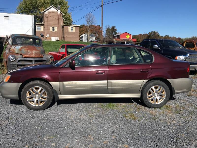 2001 Subaru Outback for sale at Full Throttle Auto Sales in Woodstock VA