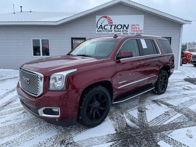 2016 GMC Yukon for sale at Action Motor Sales in Gaylord MI