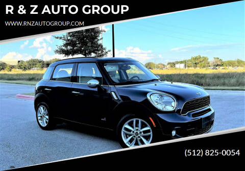 2013 MINI Countryman for sale at R & Z AUTO GROUP in Austin TX
