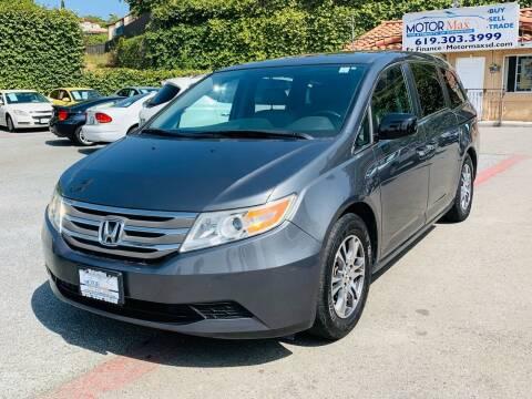 2013 Honda Odyssey for sale at MotorMax in Lemon Grove CA