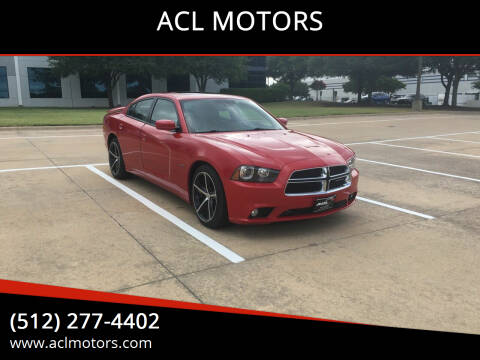 2012 Dodge Charger for sale at ACL MOTORS in Austin TX