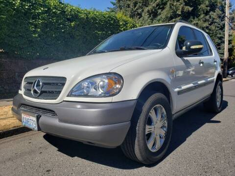 1999 Mercedes-Benz M-Class for sale at KC Cars Inc. in Portland OR