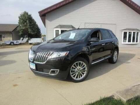 2013 Lincoln MKX for sale at Stoufers Auto Sales, Inc in Madison Lake MN