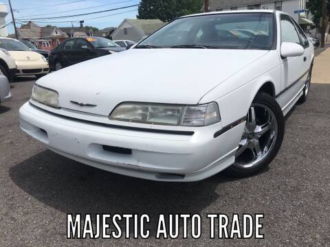 1992 Ford Thunderbird for sale at Majestic Auto Trade in Easton PA