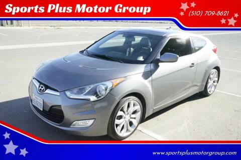2013 Hyundai Veloster for sale at Sports Plus Motor Group LLC in Sunnyvale CA