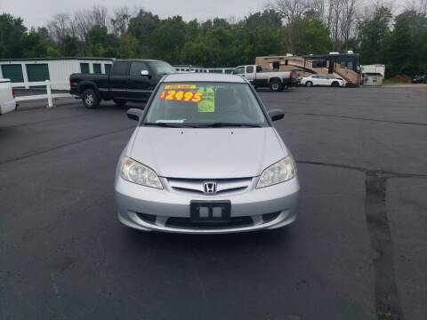 2005 Honda Civic for sale at Righteous Autos in Racine WI