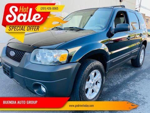 2007 Ford Escape for sale at BUENDIA AUTO GROUP in Hasbrouck Heights NJ