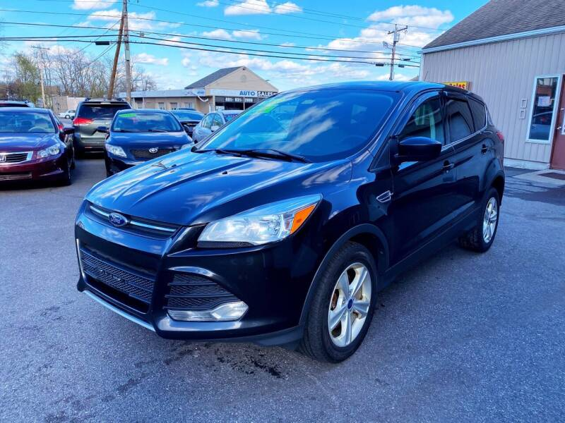 2014 Ford Escape for sale at Dijie Auto Sale and Service Co. in Johnston RI