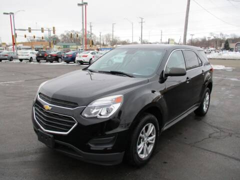 2017 Chevrolet Equinox for sale at Windsor Auto Sales in Loves Park IL