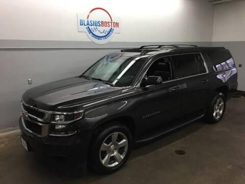 2017 Chevrolet Suburban for sale at WCG Enterprises in Holliston MA