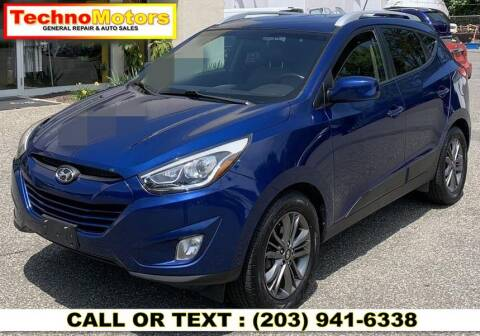 2014 Hyundai Tucson for sale at Techno Motors in Danbury CT