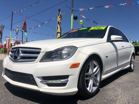 2012 Mercedes-Benz C-Class for sale at 1st Quality Motors LLC in Gallup NM