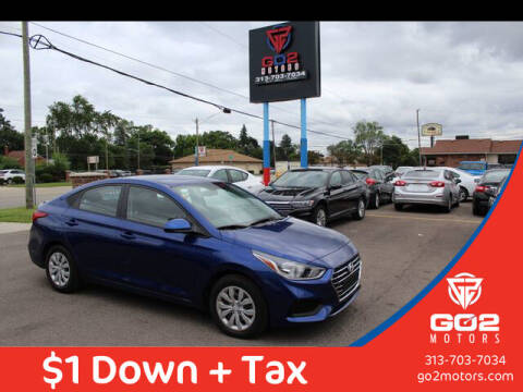 2020 Hyundai Accent for sale at Go2Motors in Redford MI