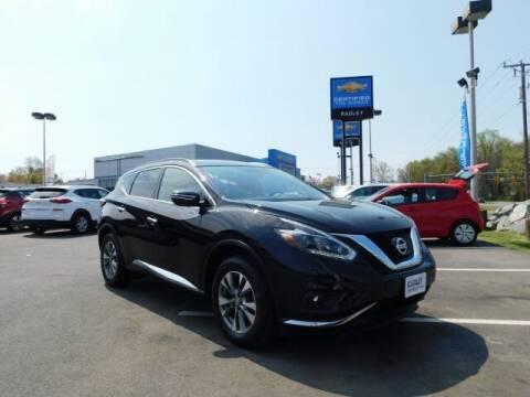 2018 Nissan Murano for sale at Radley Cadillac in Fredericksburg VA