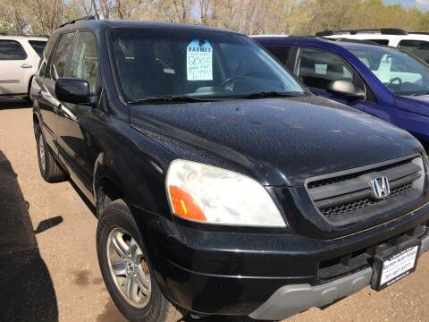 2005 Honda Pilot for sale at BARNES AUTO SALES in Mandan ND