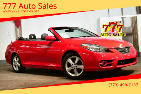 2007 Toyota Camry Solara for sale at 777 Auto Sales in Bedford Park IL
