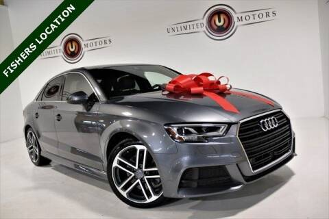 2017 Audi A3 for sale at Unlimited Motors in Fishers IN