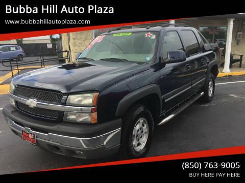 2005 Chevrolet Avalanche for sale at Bubba Hill Auto Plaza in Panama City FL