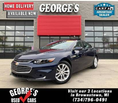 2016 Chevrolet Malibu for sale at George's Used Cars - Pennsylvania & Allen in Brownstown MI